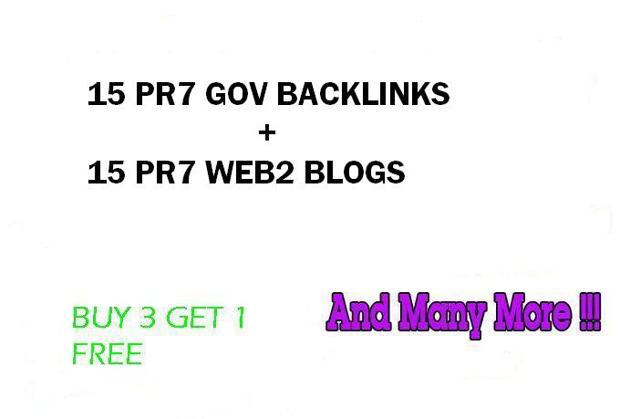 Hummingbird safe 15 PR9 Gov backlinks and 15 PR8 Web2 Blogs