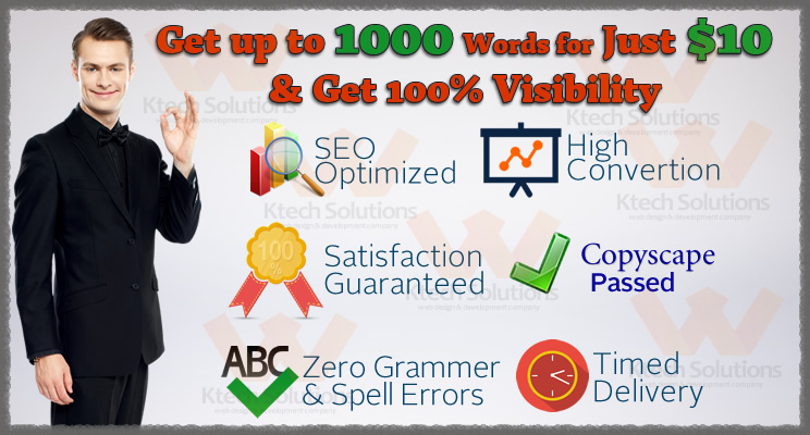 Get Up to 1000 words Quality Article with EXTRA FREE SERVICES