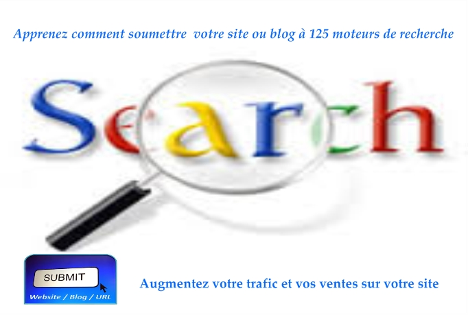 Submit easily your website or blog to top 125 search engines