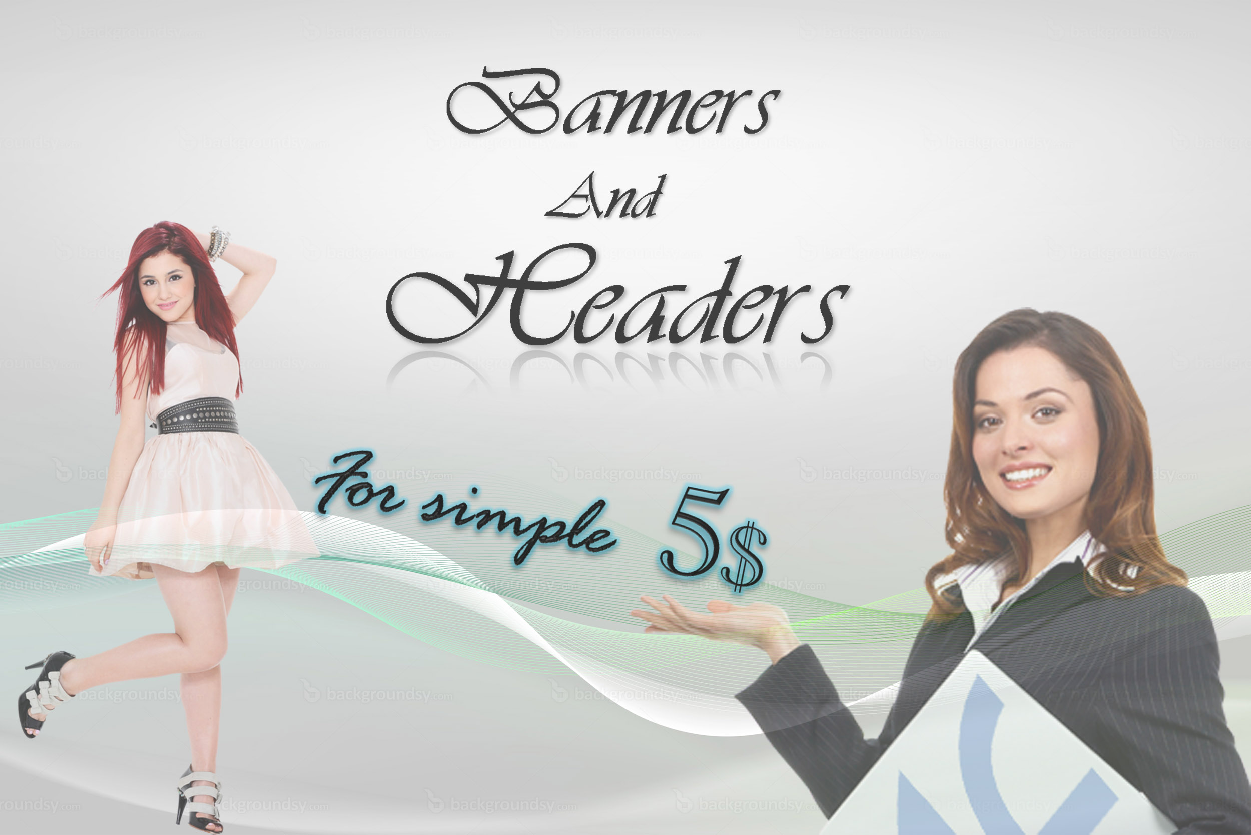 Any type Banners or Headers