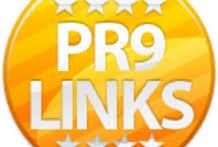 manually create 26 High authority PR9 Backlinks Panda, Penguin Hummingbird safe.