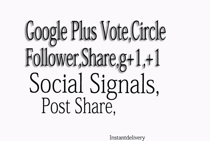 Add 150 GOOGLE share or Circles or folow for your sit...