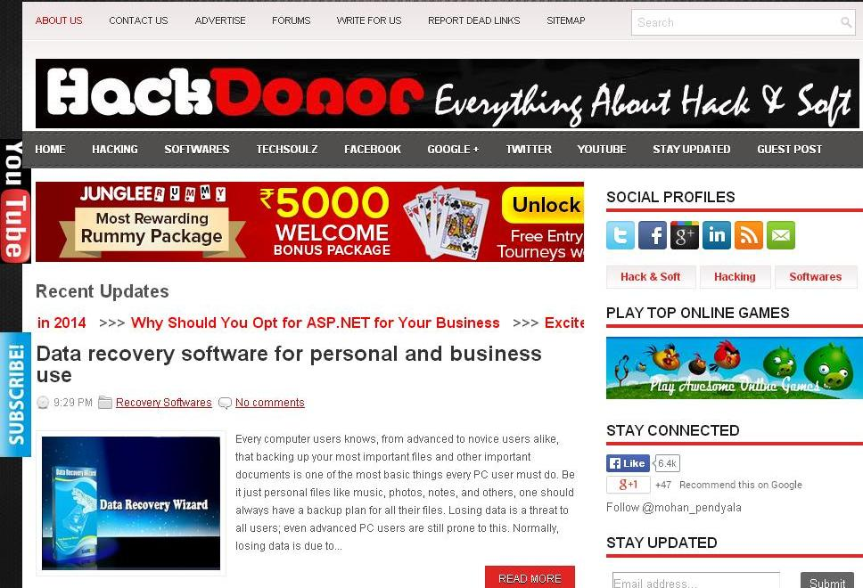 4+ years old popular website with good traffic is for SALE
