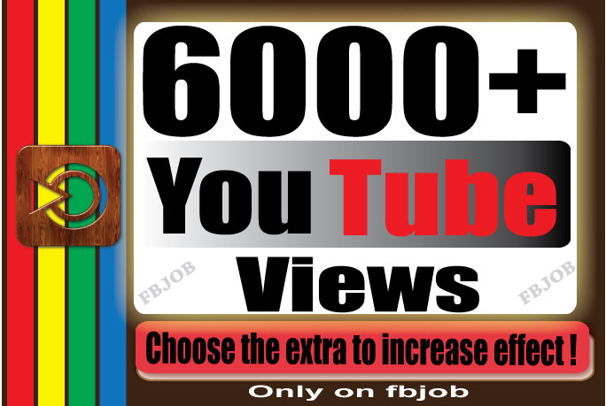 Fast 6000+ Non Drop High Quality Adsense Safe and Life Time Guaranty Views for Your Video