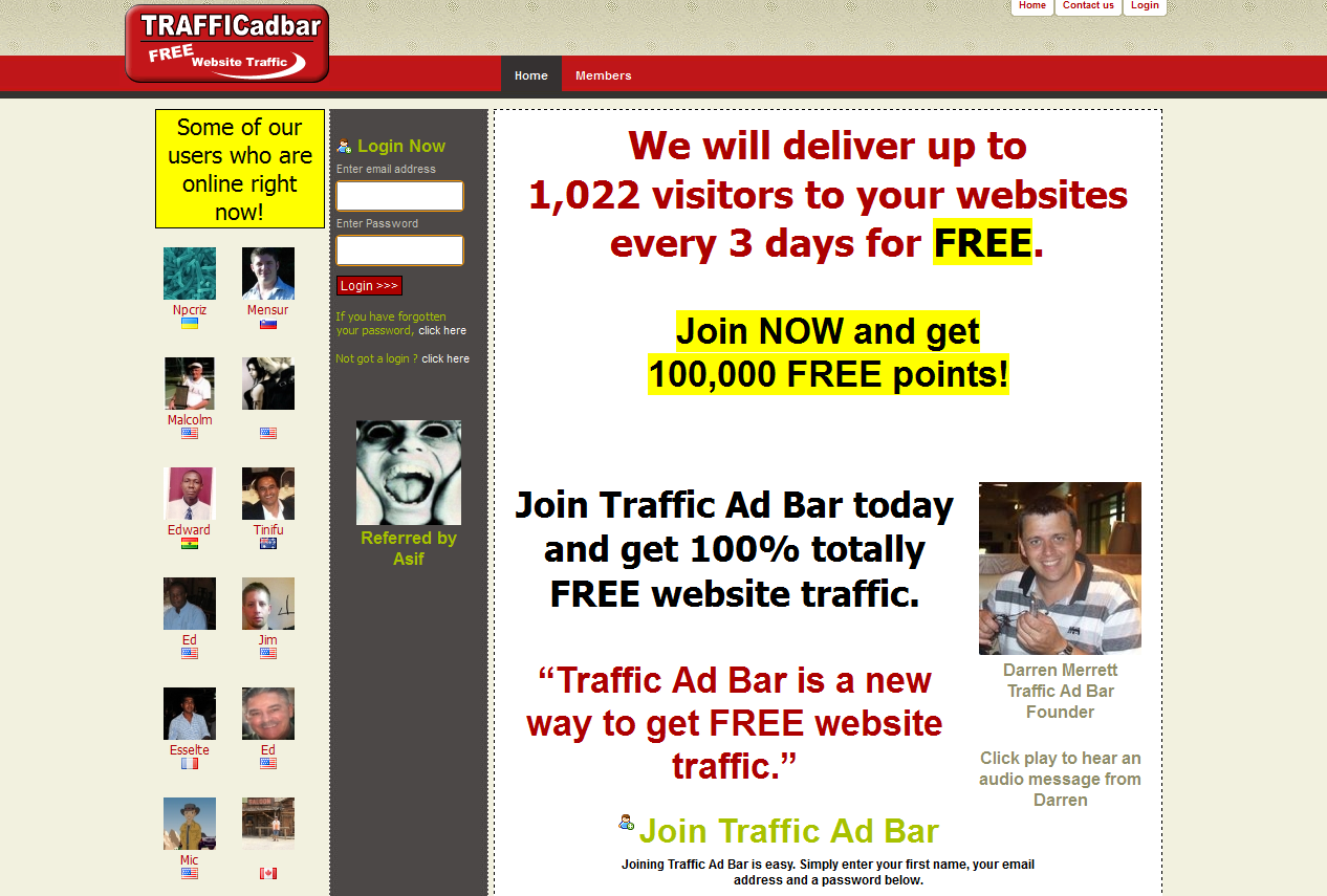 Traffic Ad Bar Hits Booster #5000