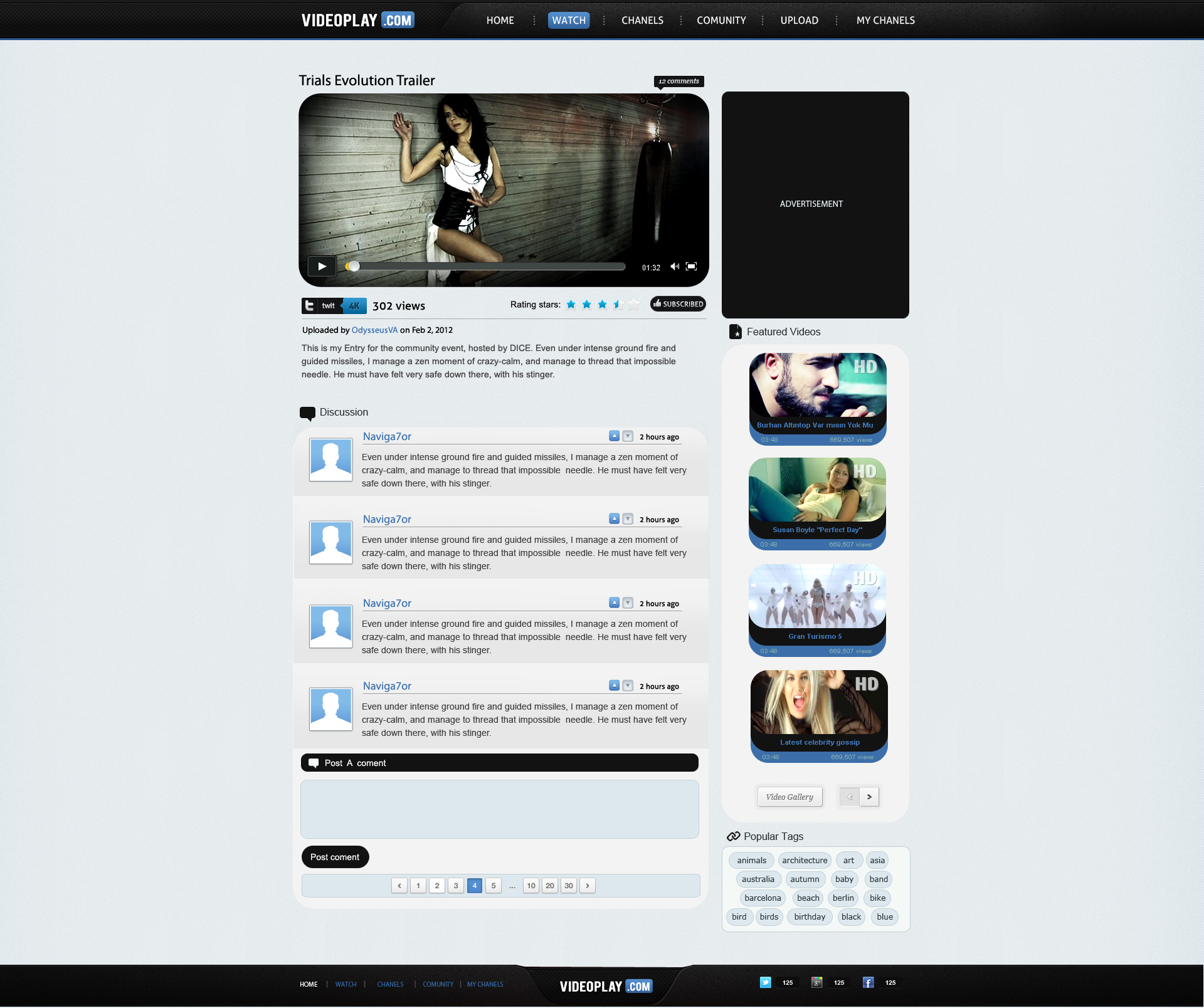 Stunning Video Sharing Template Pictures Inspiration