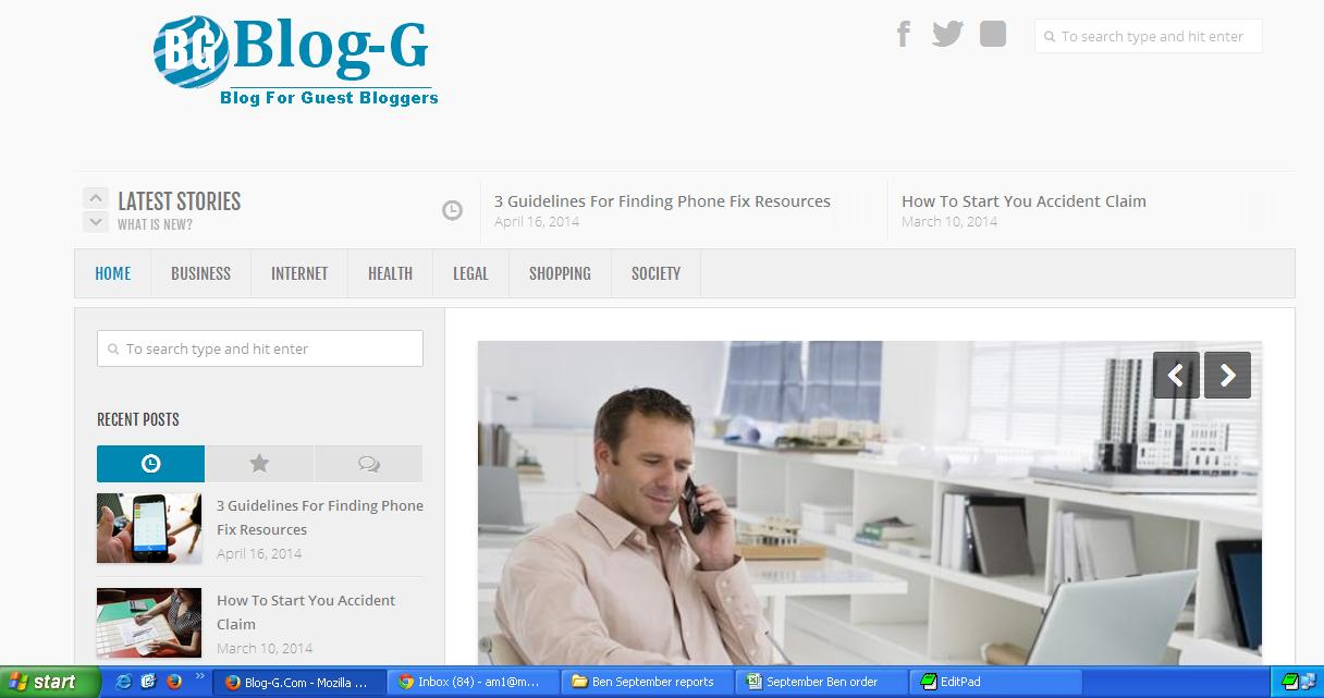 I will do blog post of your website and publish it on my quality DA29 General blog