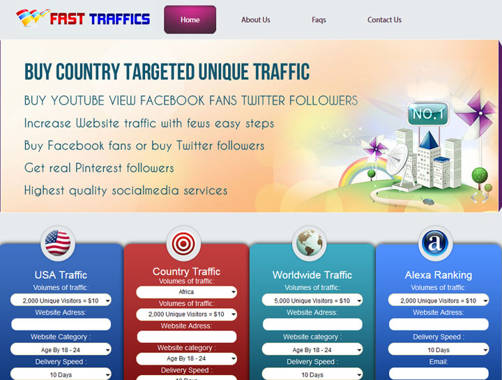 Website Traffic And Seo Selling Business Theme