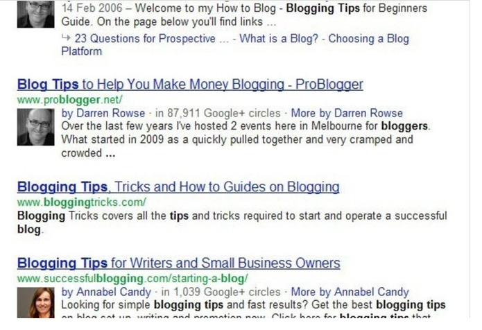 setup Google Authorship Markup for get your author in search results