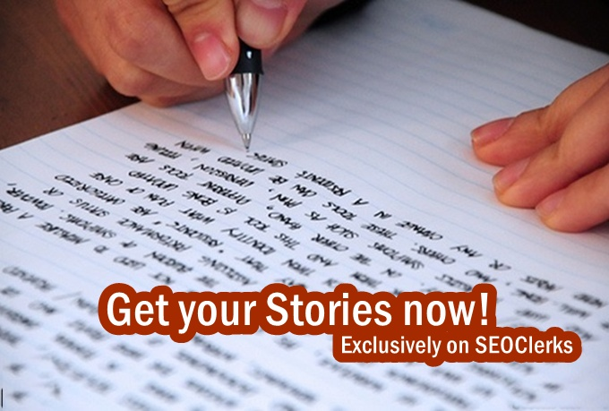 I will write 500 worded story for you