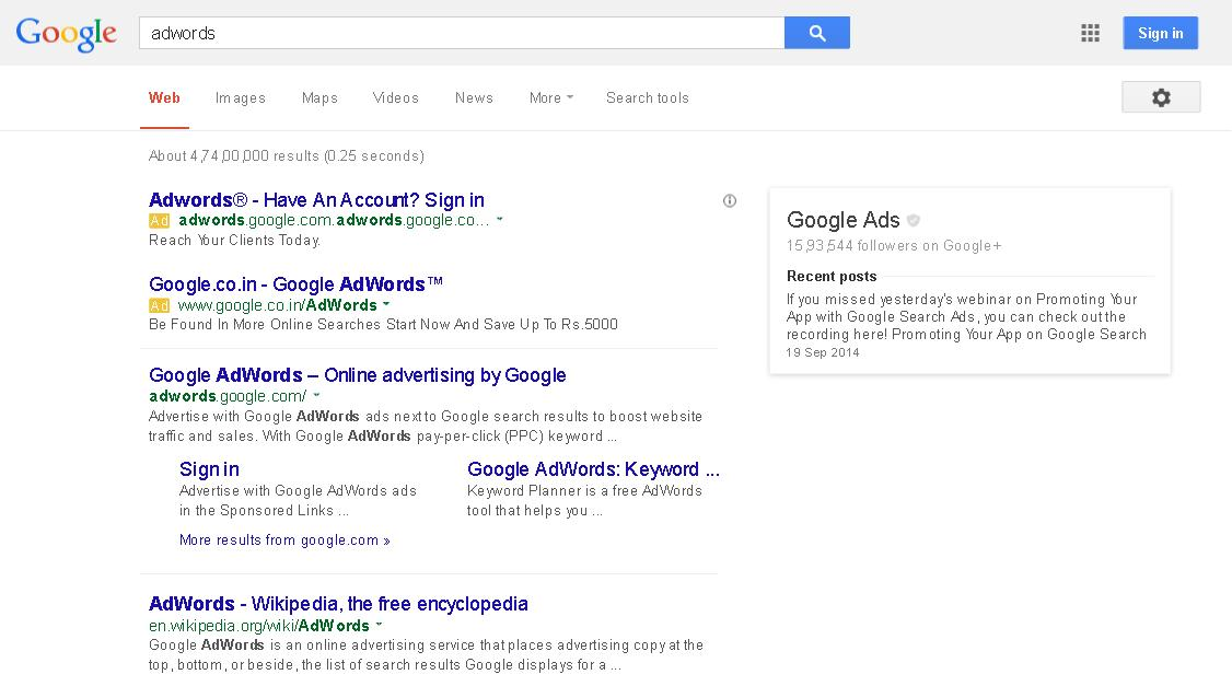 write a killer Adwords advertising copy