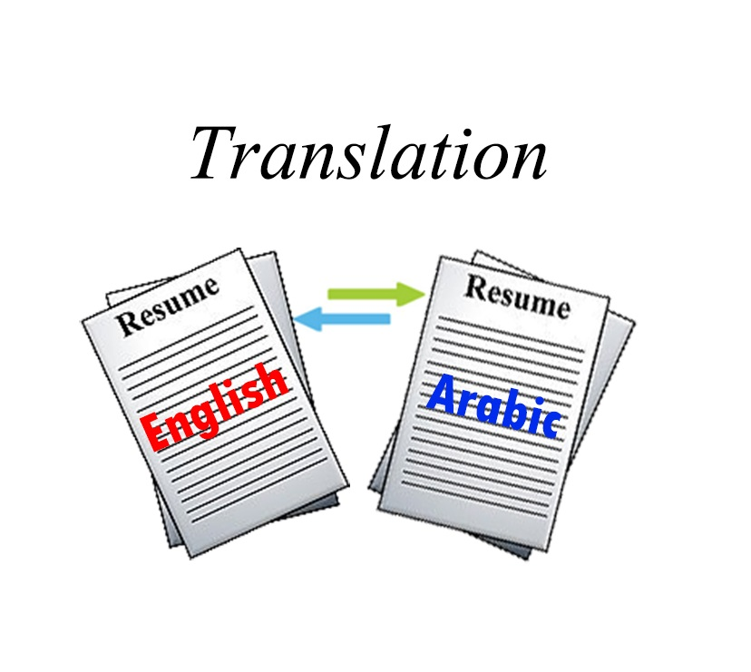 translate your cvresumeemail from english to arabic