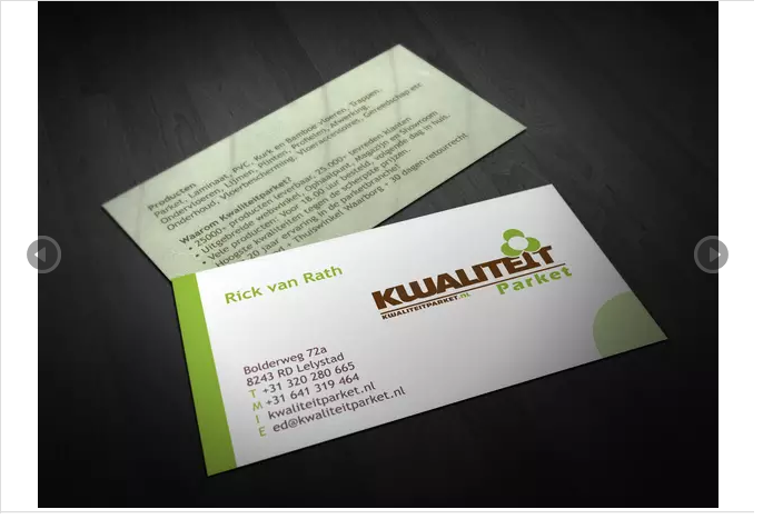 create your business card,  visiting card