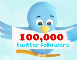 get you 100,000+ (100K) Verified T-witter Followers Within 1-5 Hours