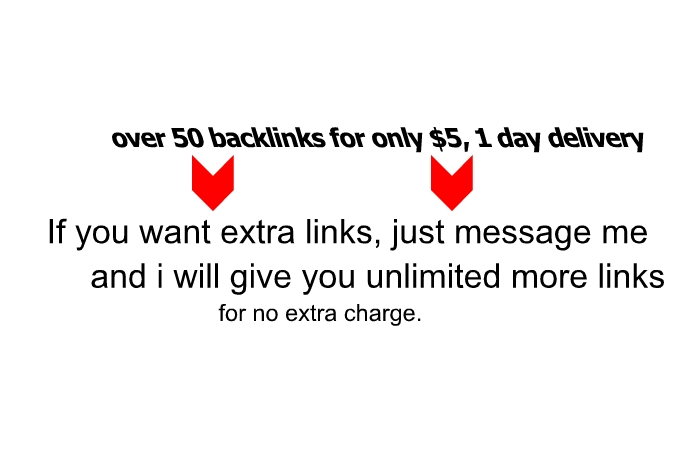 I will give you 50 backlinks from sites ranked pr1-pr9