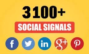 3100 Top  Quality Social Signals from 5 Social Platform