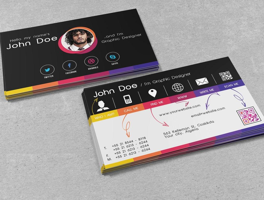 personal cards design - Acur.lunamedia.co