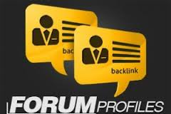 create 8100 publicly visible including Edu and Gov forum profile backlinks Buy..*/..