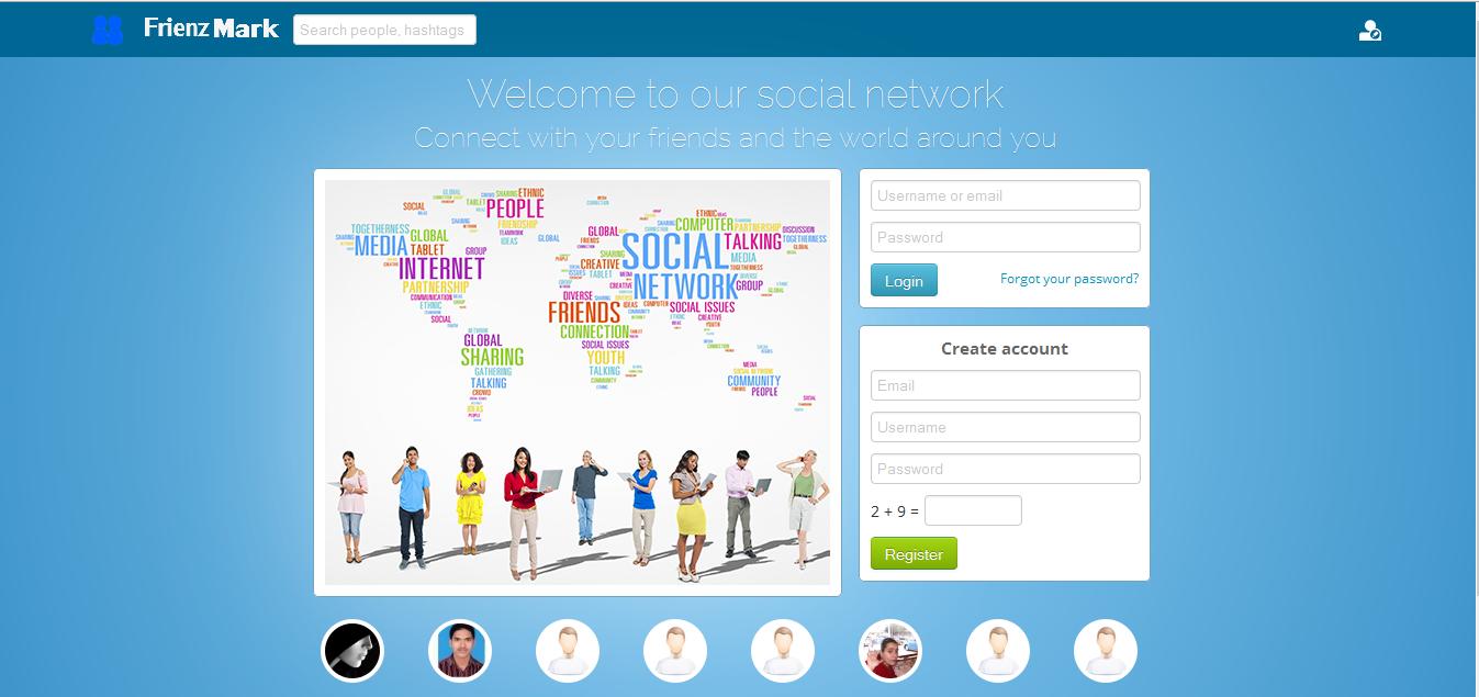 I will create social site clone