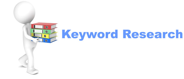 Keyword research for your niche and domain for SEO