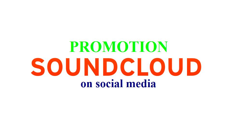 promote your SoundCloud Track on social media