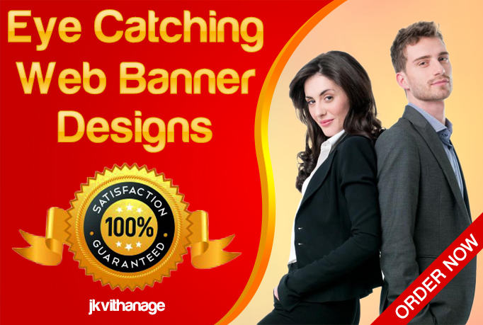 design professional and eye catching banner ad