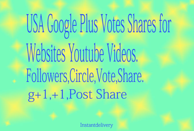 115+ USA base Google Plus Circle Follow