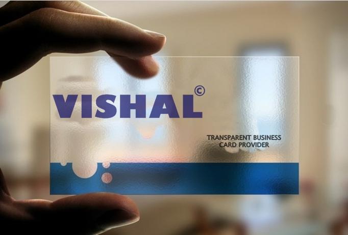 design A Transparent Business Card For You