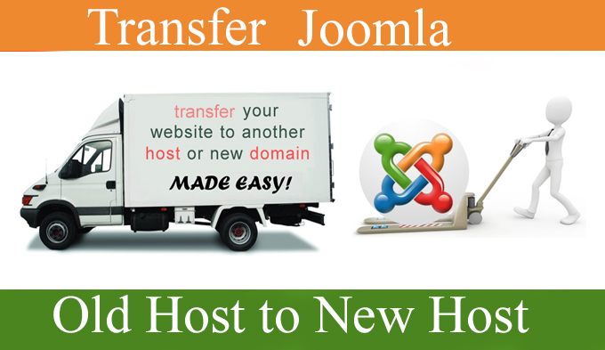 I will move joomla website into new hosting