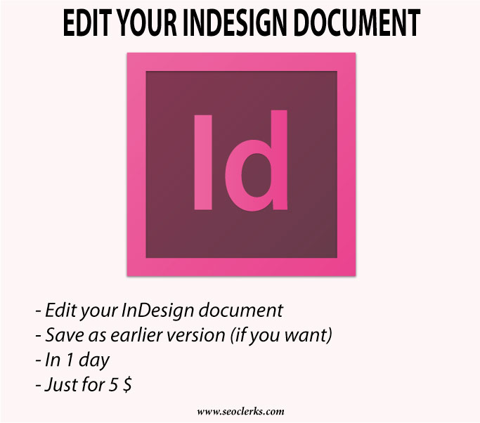 can you edit a pdf in indesign