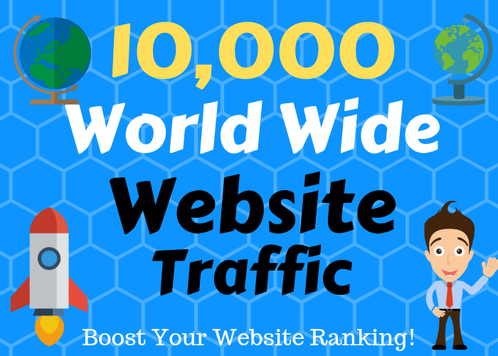 10000 Human traffic to your web or blog site. Get Adsense safe and get Good Alexa rank