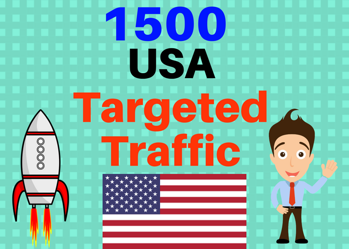 1500 USA TARGETED Human traffic to your web or blog site. Get Adsense safe and get Good Alexa rank