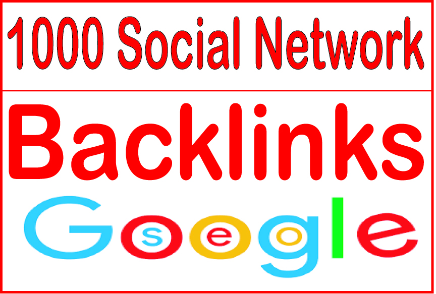 Create 1000 Social Network backlinks