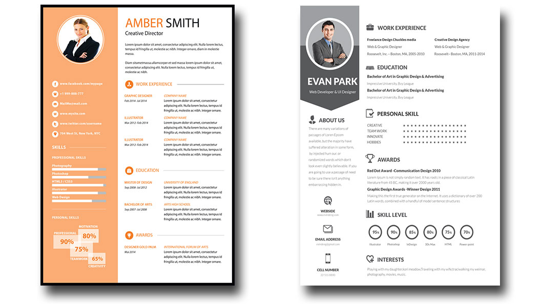 Free Infographic Resume Template Psd Visual Templates Download Doc Give  Editable Word . Free Graphic Design Resume Templates ...  Creative Resume Templates Free