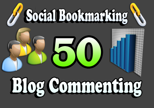 I will do 30 unique domain Blog Commenting and Plus 20 Social bookmarking DA30+