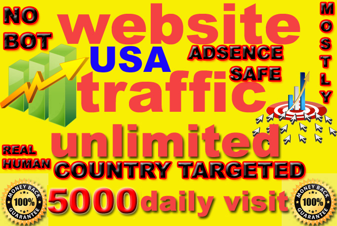 i will give send 150k super targeted usa website traffic daily visitors