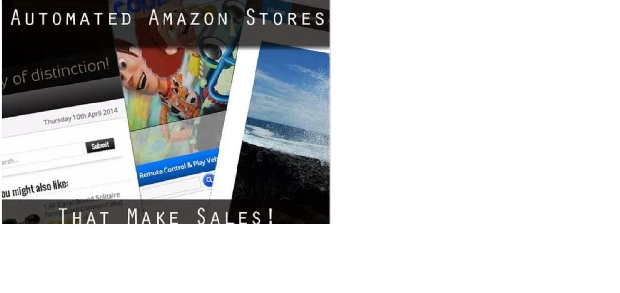 create unique amazon affiliate site