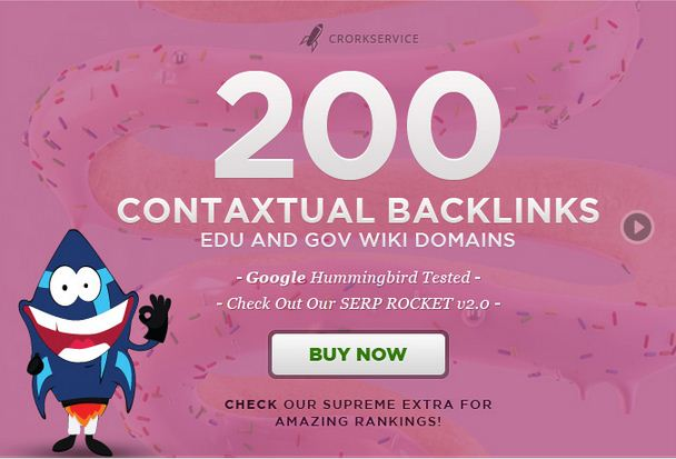 I will create 400 high PR contextual backlinks from 100 gov and edu wiki domains Buy for