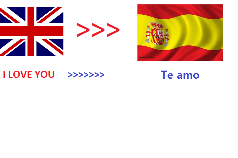 We will translate 500 English words to Spanish