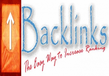 submit 500 DOFOLLOW backlinks for your site to improv...