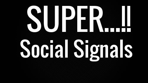 1000 Powerful SOCIAL SIGNALS,  SEO POWER