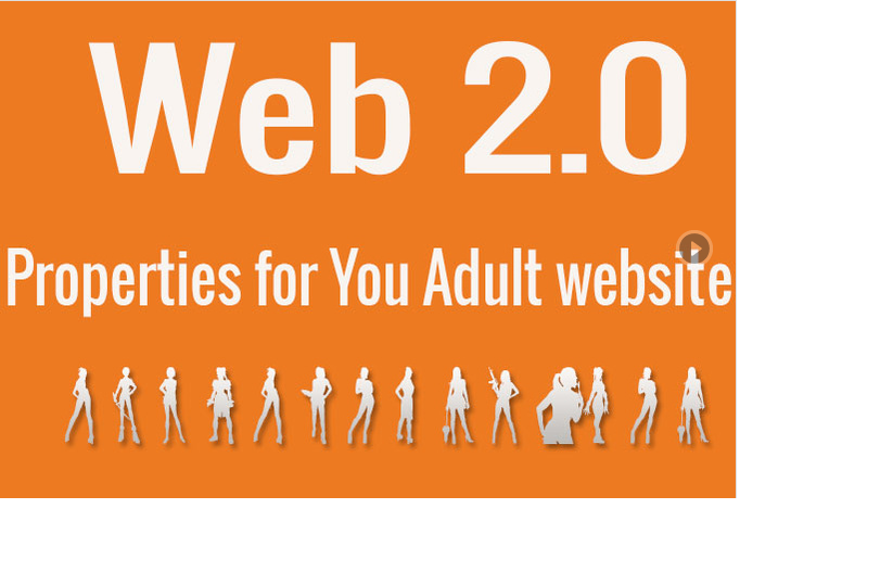 do 12 high PR web 20 properties for Adult websites