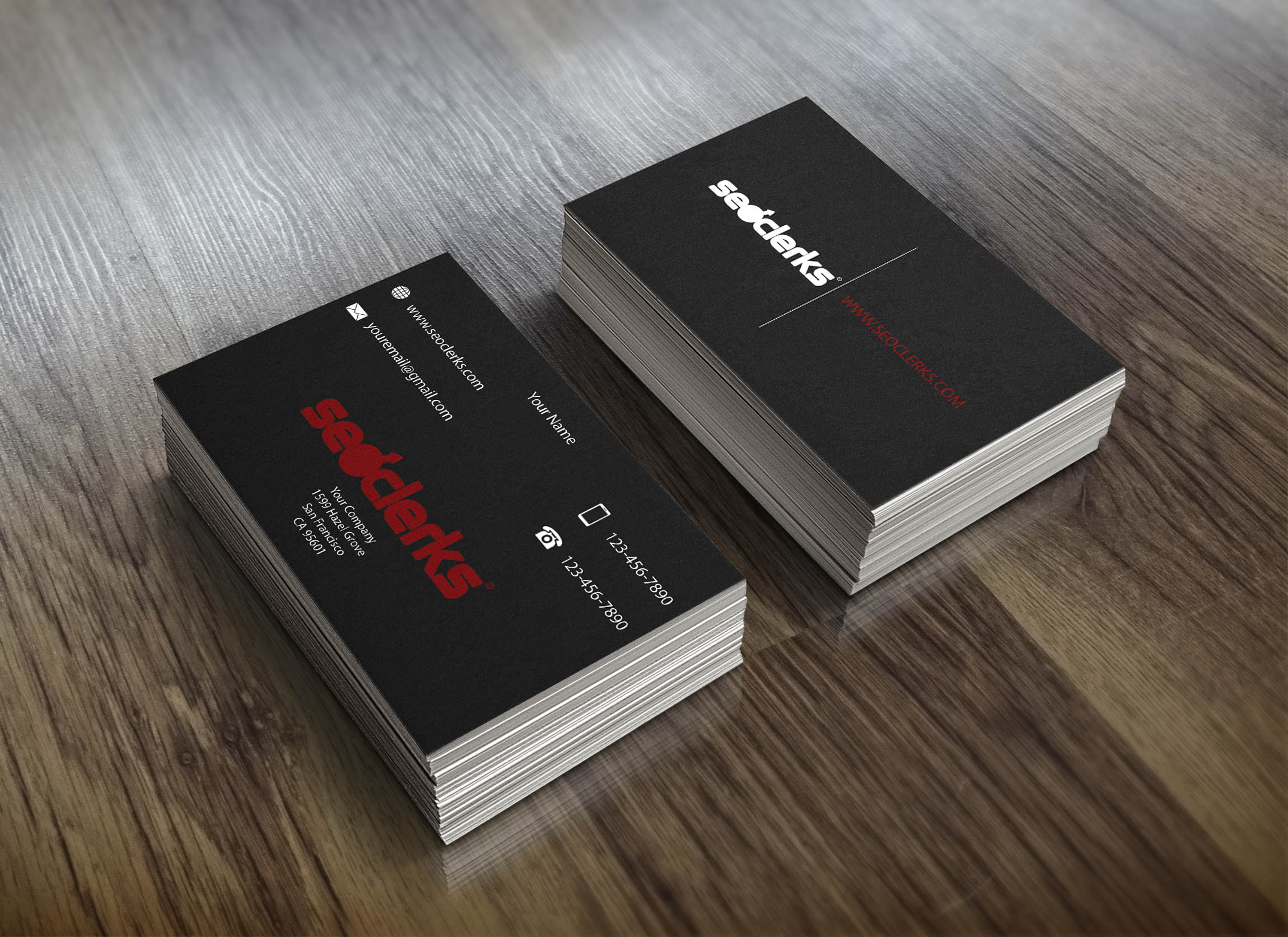I will design a stylish and professional business card