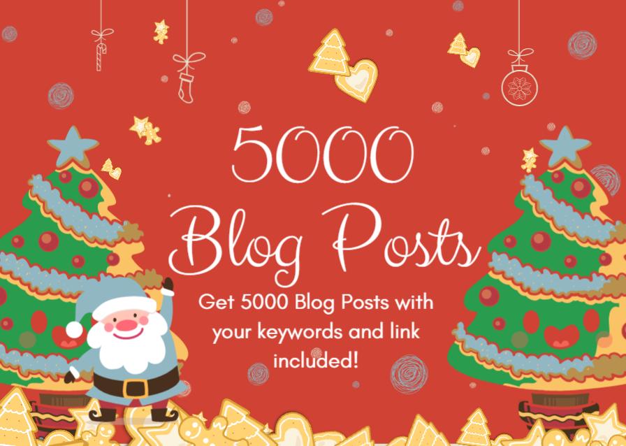 5000 Do-Follow PBN Backlinks - Keywords Included