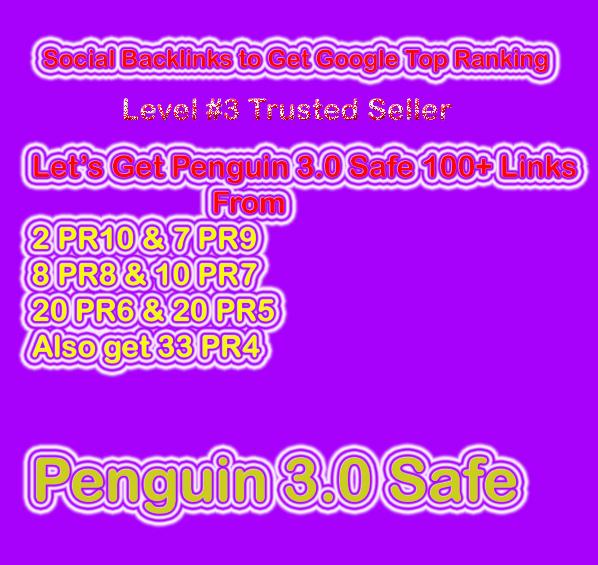 Get Penguin Safe Manual 100 Social Profile Backlinks ...