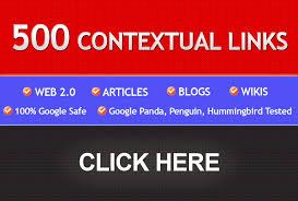 Let Build 500 EDU And Academic Contextual Backlinks