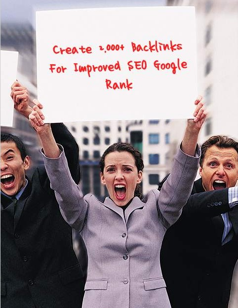 I will create 2,000+ Backlinks For Improve SEO Google Rank