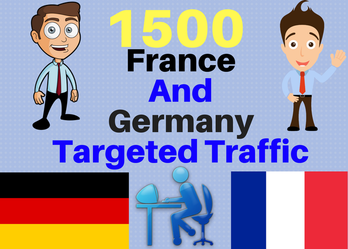 1500 France and Germany TARGETED traffic to your web or blog site. Adsense safe and Good Alexa rank
