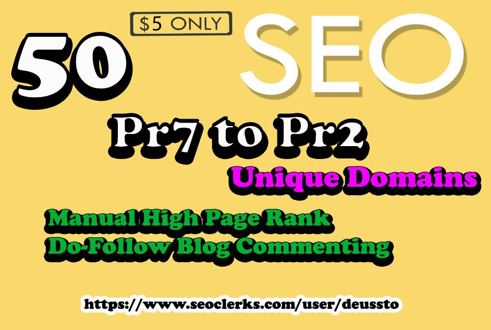 I Will do Penguin and Panda Safe Manual 50 Unique Domain Backlinks Actual DA92 to Da20