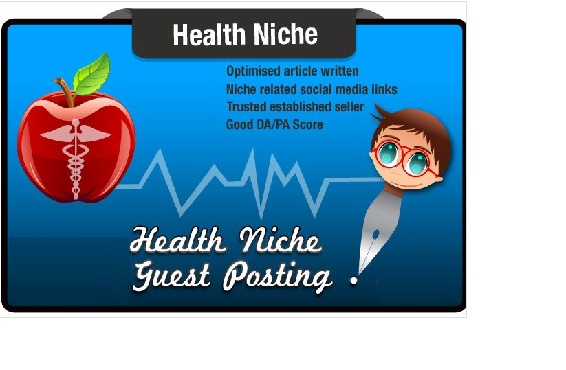 write and Guest Post a Health Niche SEO Optimised Article SeoMoz DA34 PA21